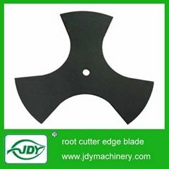 root cutting edge blade