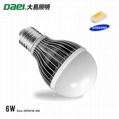 LED Bulb 6W with E27 Samsung chip