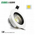 "Daei Brand 2.5"" LED downlight 5W ceiling"