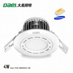 "2"" LED Downlights 4W Seoul / Samsung LED chip"