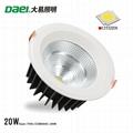 LED down light 20W spotlight ceiling