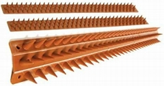 Plastic wall spikes in UV stabilized weatherproof polypropylene