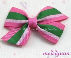 grosgrain hair bow baby hair bow