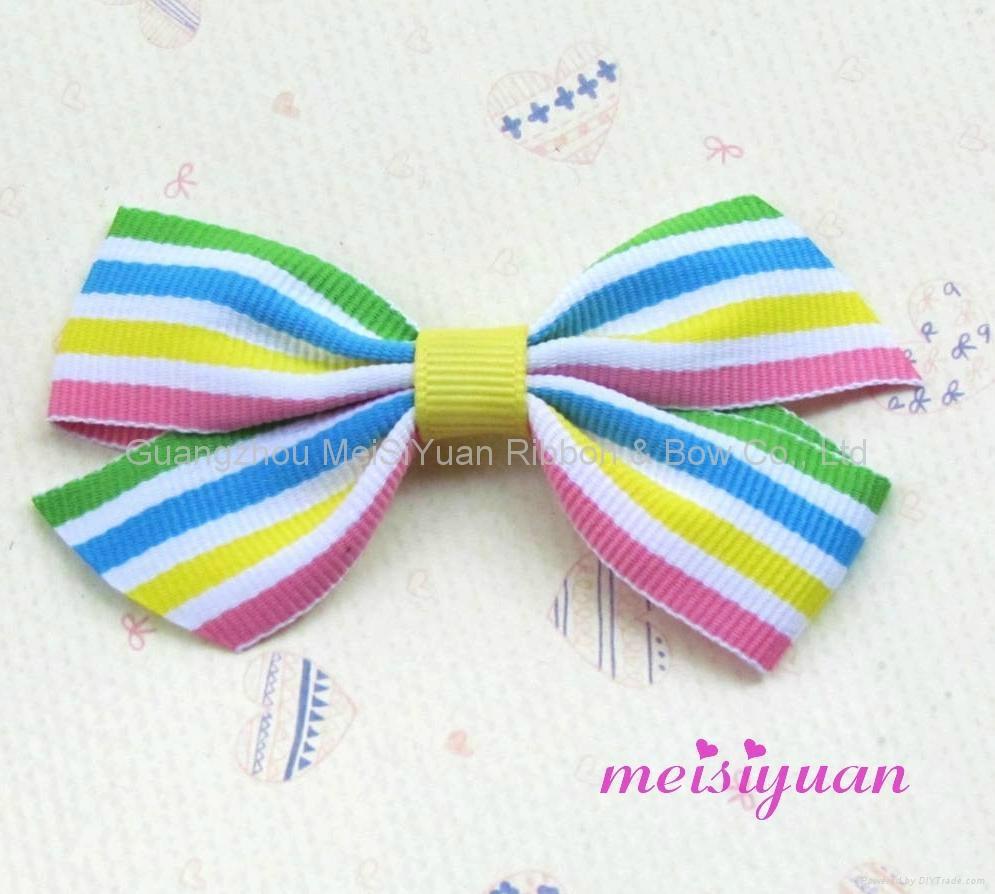 grosgrain hair bow baby hair bow 3