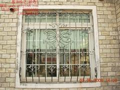 【欧式】中高档小区铁艺窗_复古典雅风格_TYC-005订制款