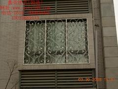 【欧式】中高档小区铁艺窗_时尚典雅风格_TYC-006订制款