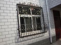 【中式】中档小区私宅铁艺窗_简约大方风格_TYC-010订制款