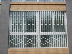 【中式】中档小区私宅铁艺窗_简约大方风格_TYC-011订制款