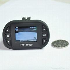 1080p 25fps mini size car camera 12 IR lights