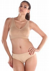women's seamless shaper bra
