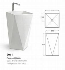 7011 Pedestal Basin