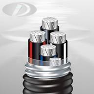 联锁铠装铝合金电力电缆 1