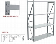 Light storage rack
