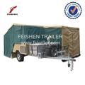 easy folding hard floor camper trailer