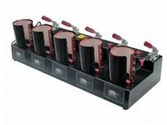 5 combo mugs heat press machine