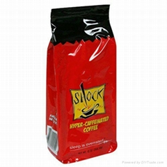 one-way valve coffee packing bag for promotion