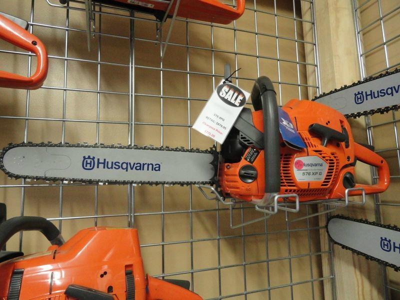 Husqvarna 576XPG Heated Handle 18 inch chainsaw 1
