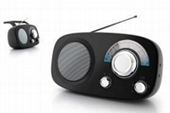 AC/DC Portable Am/FM Radio
