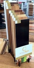 Wood  flooring display rack