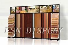 metal flooring display rack