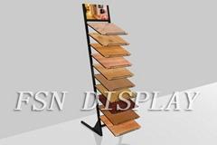 12 frames flooring display racks