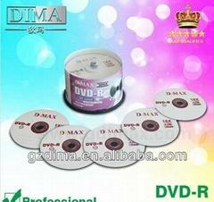 customer logo blank disc dvd-r 16x