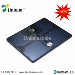 hot Glass bluetooth fat body scales