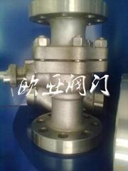 Q41F-150LB不鏽鋼美標法蘭球閥