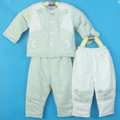 baby Clothing,cotton padded coat set