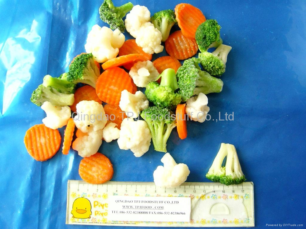 2013 Mixed vegetables with KOSHER,HALAL,BRC  1