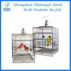Wholesale stainless steel cockatiel bird cages