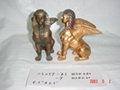 Resin Egyptian Themed Figurines