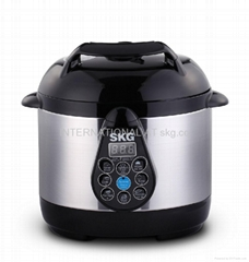 2L electric pressure cooker