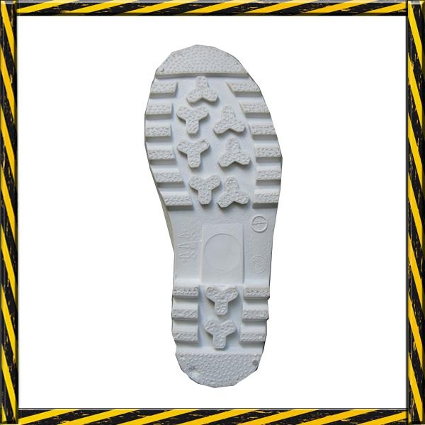 Food industry PVC safety rain boots  2