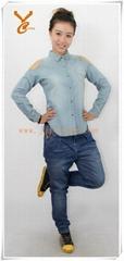 ladies fashionable denim sets