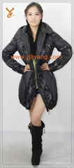 2013 New Style Women Black Outdoor Down Jacket