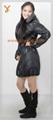 2013 New Style Women Black Outdoor Down Jacket 3