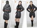 2013 New Style Women Black Outdoor Down Jacket 4