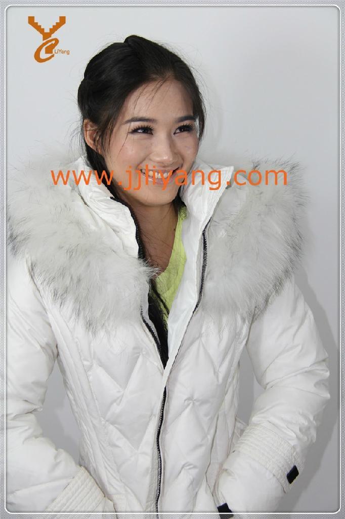 2013 New Style Women Black Outdoor Down Jacket 5