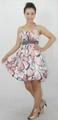 flower printing cotton girls dress 1