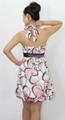flower printing cotton girls dress 2