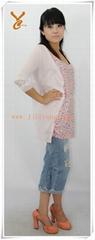 Ladies long sleeve cardigan fashion