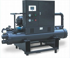 Low-temp Industrial Water Cooled Screw Chiller for Injection Machinery