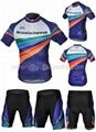 2013 Style Cycling Jersey Set Short-sleeved Jersey Tenacious Life/perspiration B 2