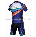 2013 Style Cycling Jersey Set Short-sleeved Jersey Tenacious Life/perspiration B 3