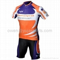 2013 Style Cycling Jersey Set Short-sleeved Jersey Tenacious Life/perspiration B 4