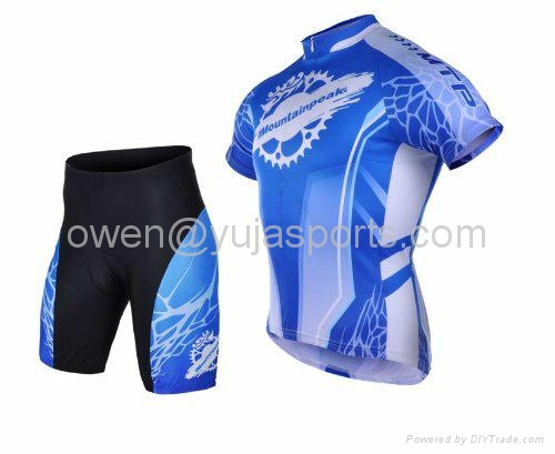 2013 Cycling Bicycle Bike Comfortable Outdoor Jersey Shorts Set 2