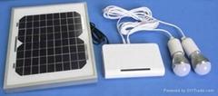 3W太阳能锂电发电系统