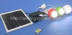 7W太阳能锂电发电系统