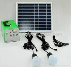 家用10W太阳能发电系统